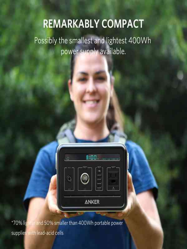Anker PowerHouse 120000mAh Por